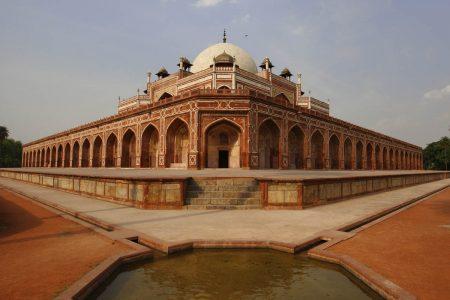 Fotoreise Indien - Humayuns Grab in Neu Delhi