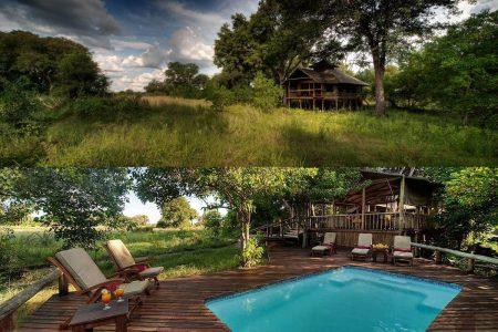 Little Kwara im Okavangodelta - Botswana.