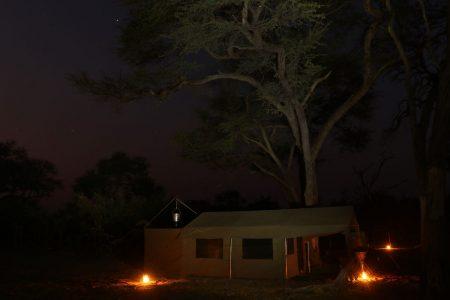 Nachts Im Camp - Botswana Fotosafaris
