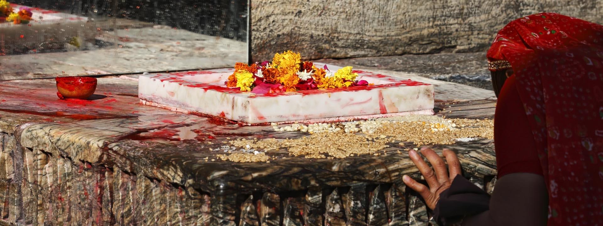 Opfer Indien Frau