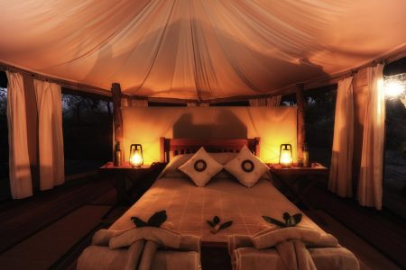Kanga Pan Tent, Mana Pools NP