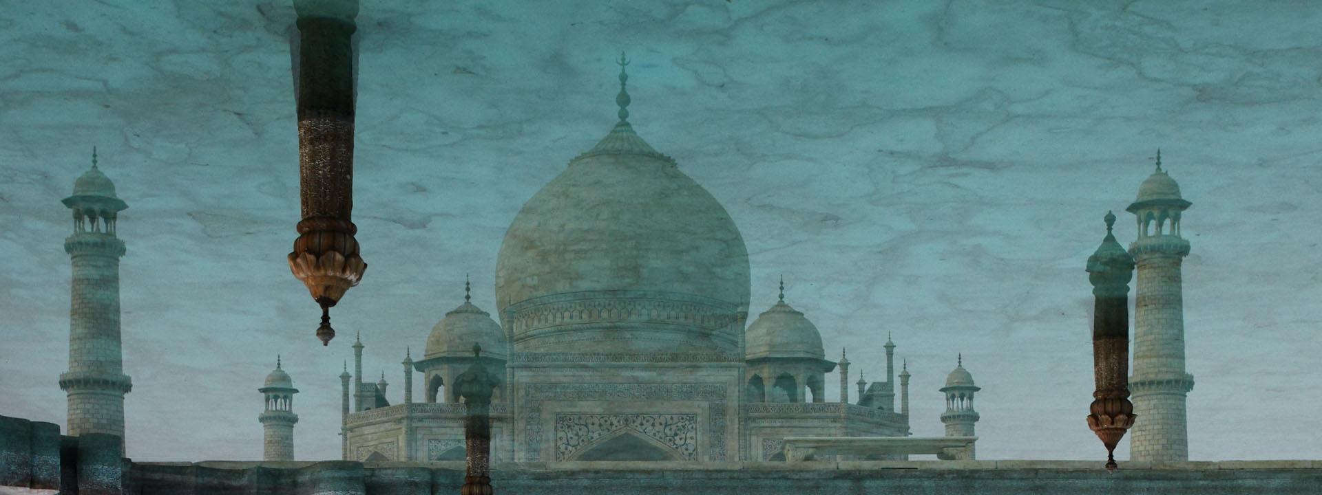 Taj Mahal Spiegelung