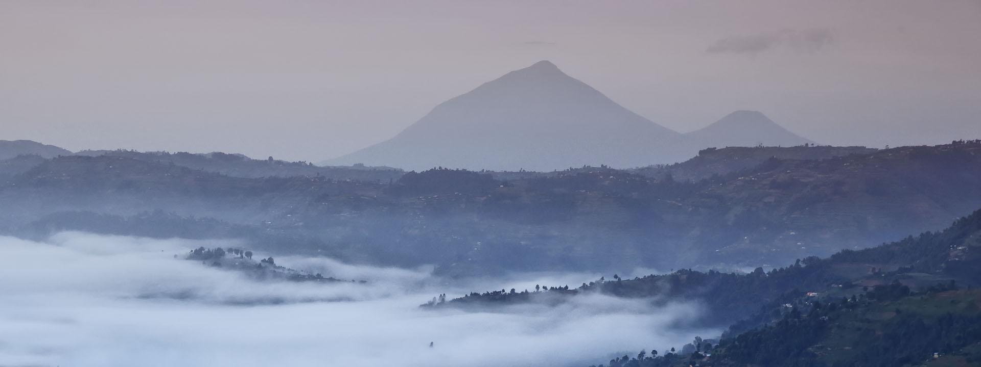 Uganda Ruanda Vulkane