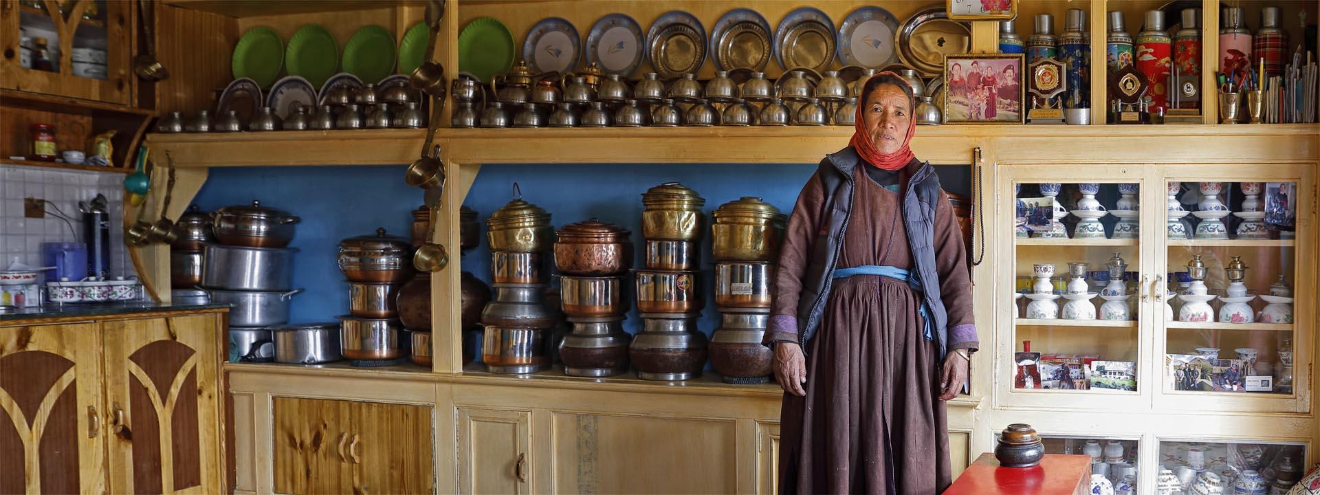 Homestay in Ladakh Indien