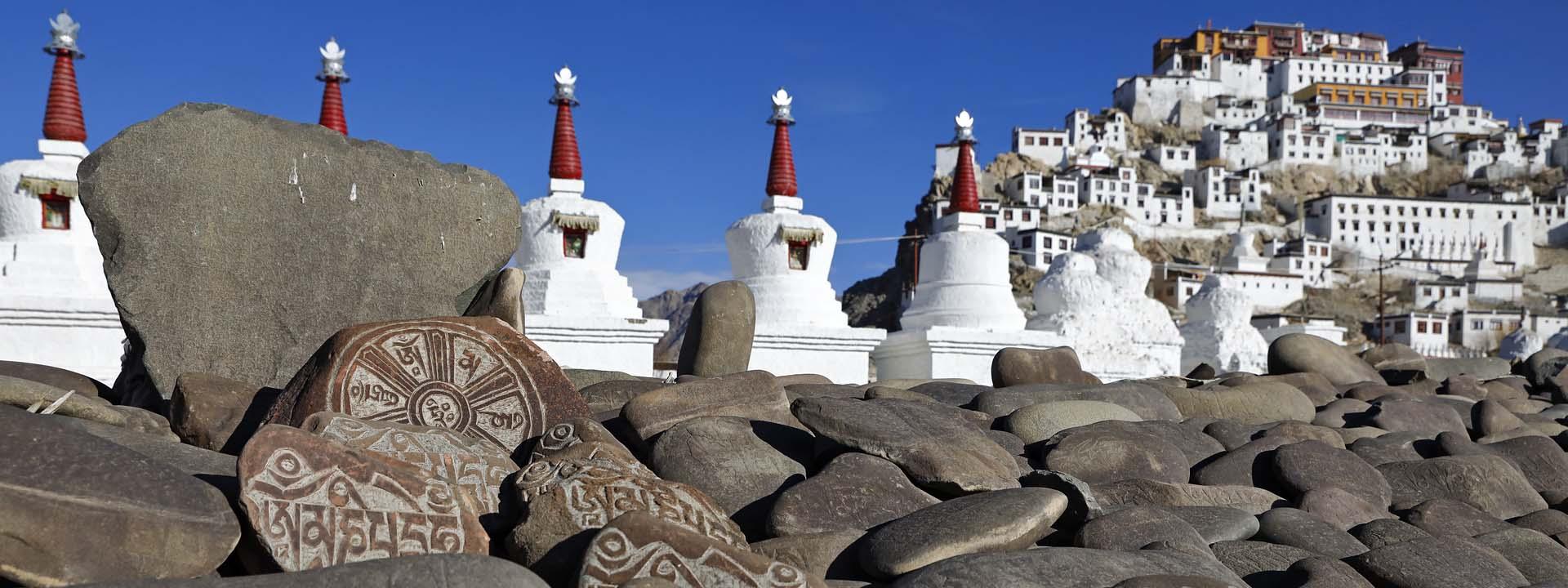 Kloster Thiksey in Ladakh Indien