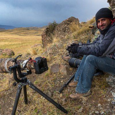 Octavio Campos Salles hier in Patagonien - Unser Guide im Pantanal, Brasilien.
