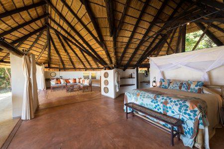 Tolles Camp kombiniert mit bester Lage. Private Safaris.