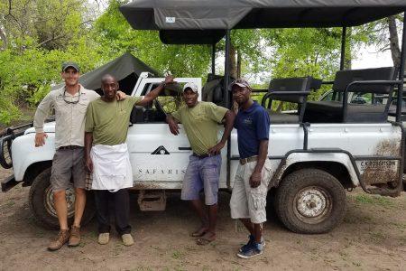 Team Hwange Reise