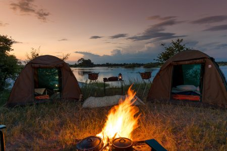 Simbabwe Reise Mobile Zeltcamps
