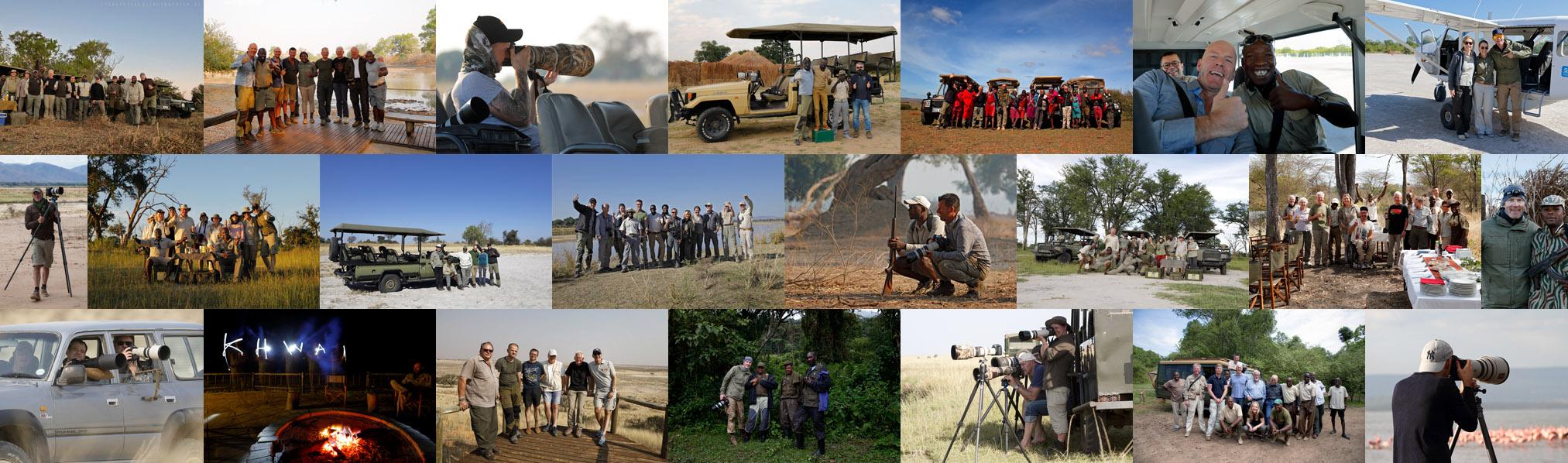 Fotosafari Afrika