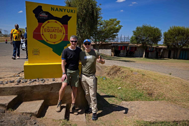 Kenia Reise Äquator